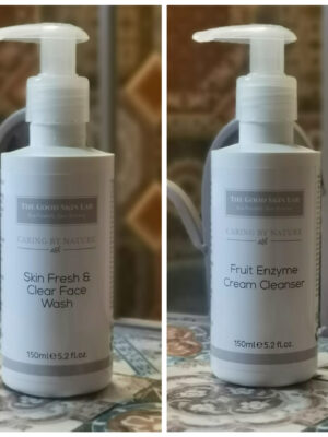 2 Step cleanser Skin fresh face wash and fruit enzyme cleanser